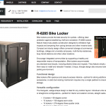 R-8285 Bike Locker