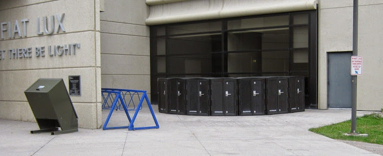 Bike Lockers Outdoor Bicycle Parking