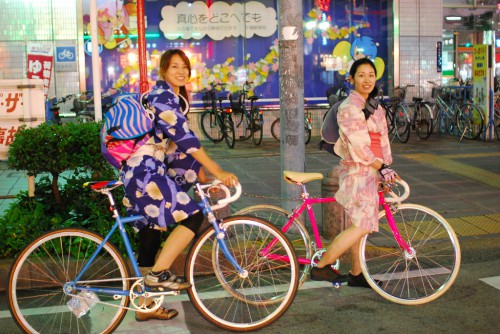 The Yukata Riders