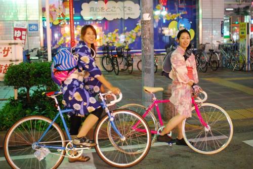 The Yukata Riders