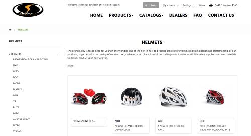 SELEV helmet