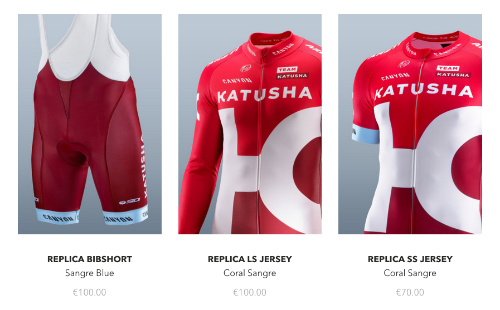 katusha wear