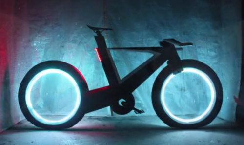 THE CYCLOTRON BIKE
