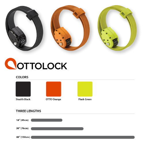 OTTOLOCK go-anywhere bike lock
