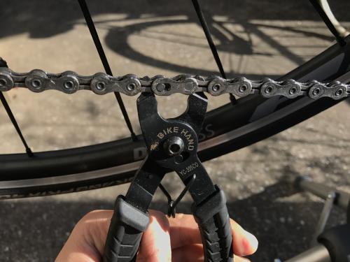 自転車整備工具_ミッシングリンクプライヤー