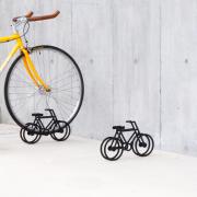 studio yumakano - on bicycle stand