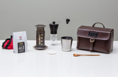 Looptworks Upcycle Coffee Travel Kit